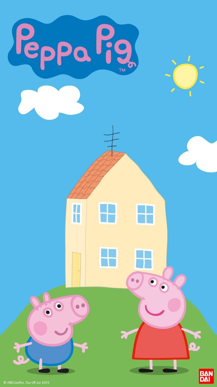 iPhone and Android Wallpapers Peppa Pig Wallpaper for iPhone and 750x1334