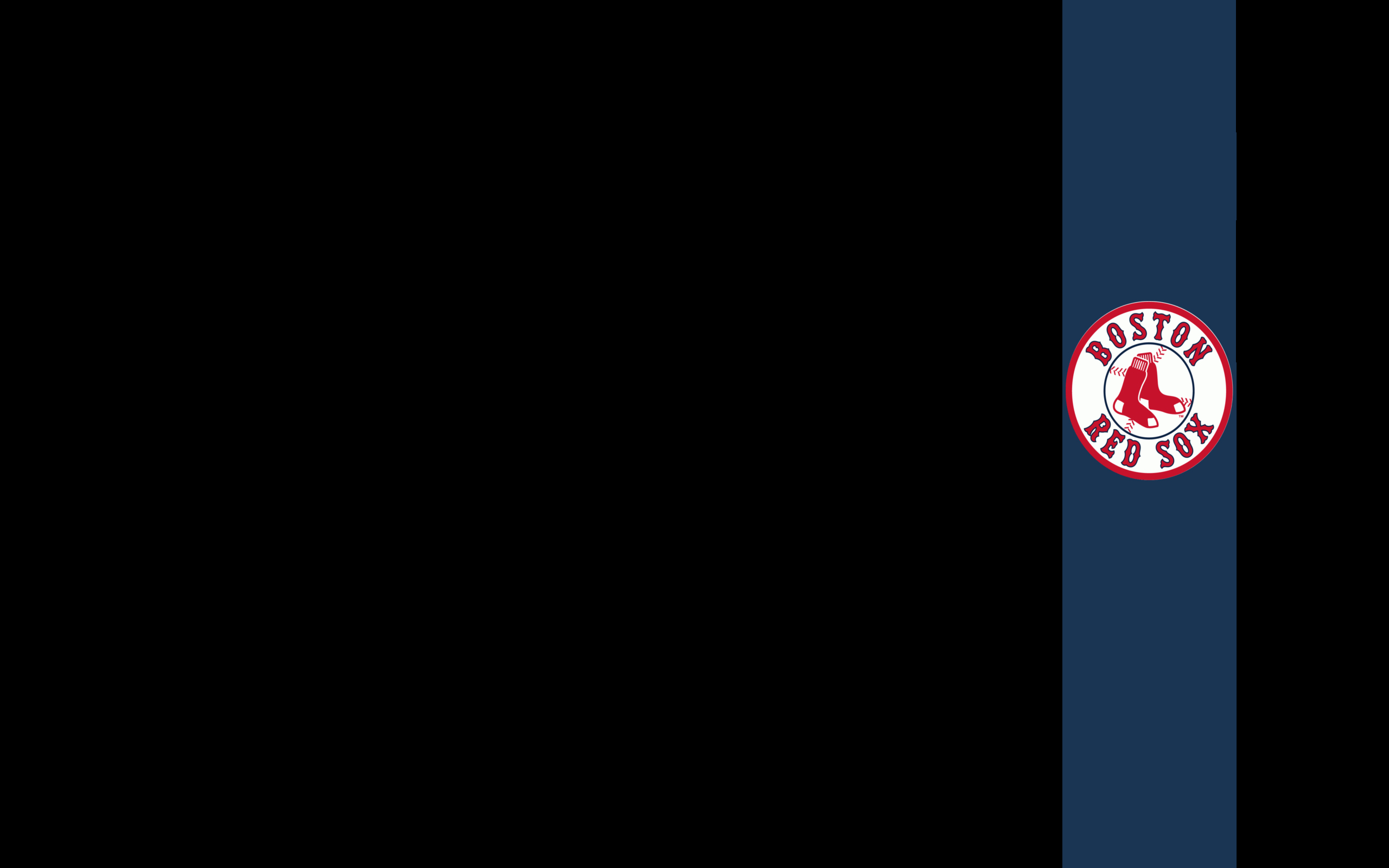 Boston Red Sox Logo Wallpapers 2560x1600