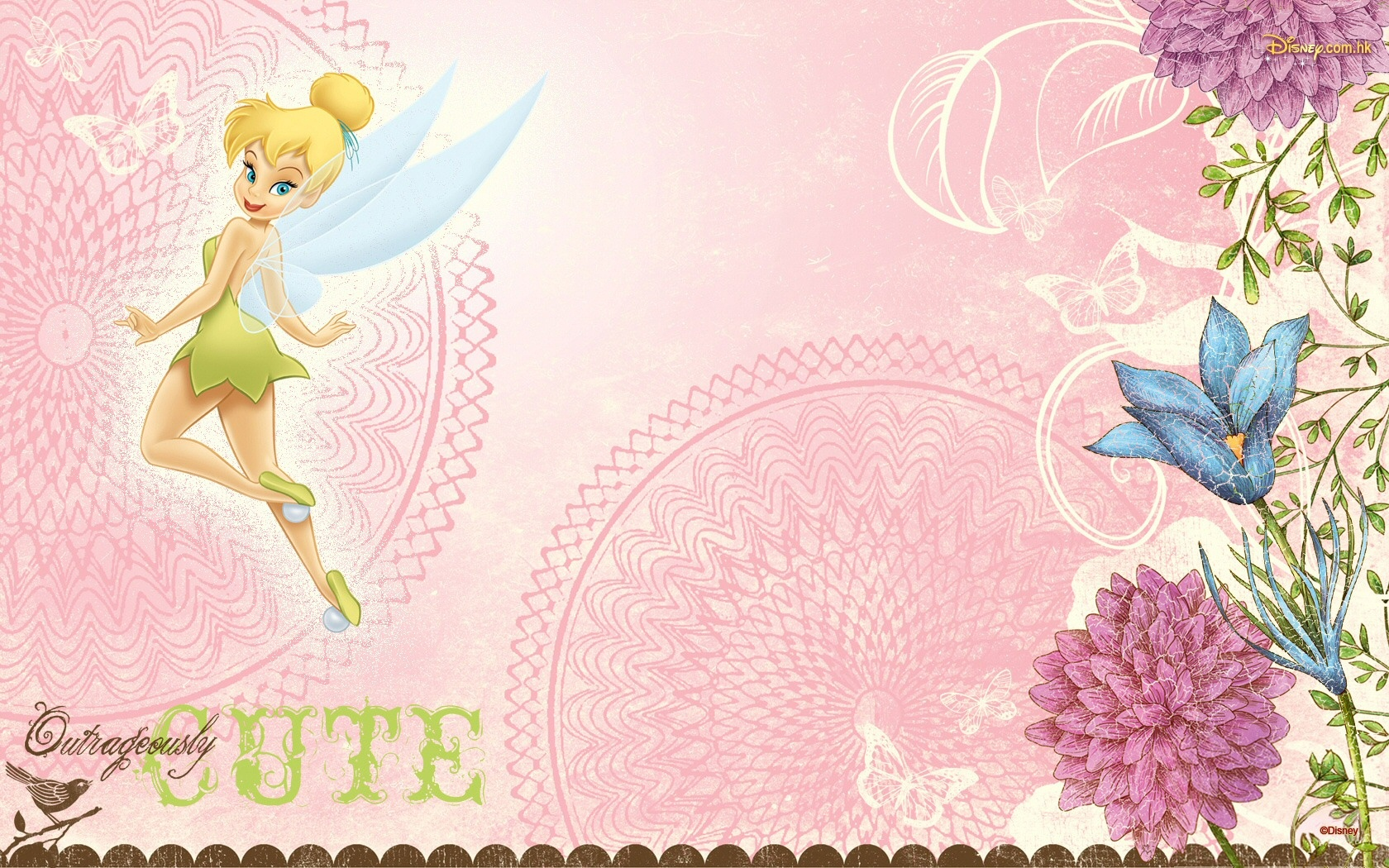 Tinkerbell Wallpaper 1680x1050