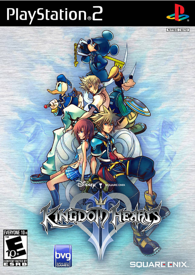 Kingdom Hearts II Dinosaurio Games 640x904
