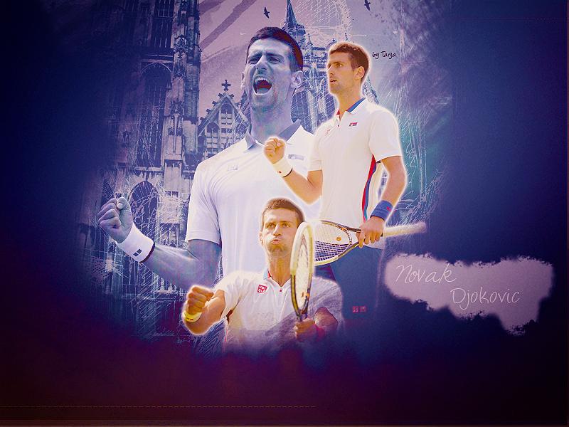 Novak Djokovic Wallpaper by Tanja1Nole 800x600