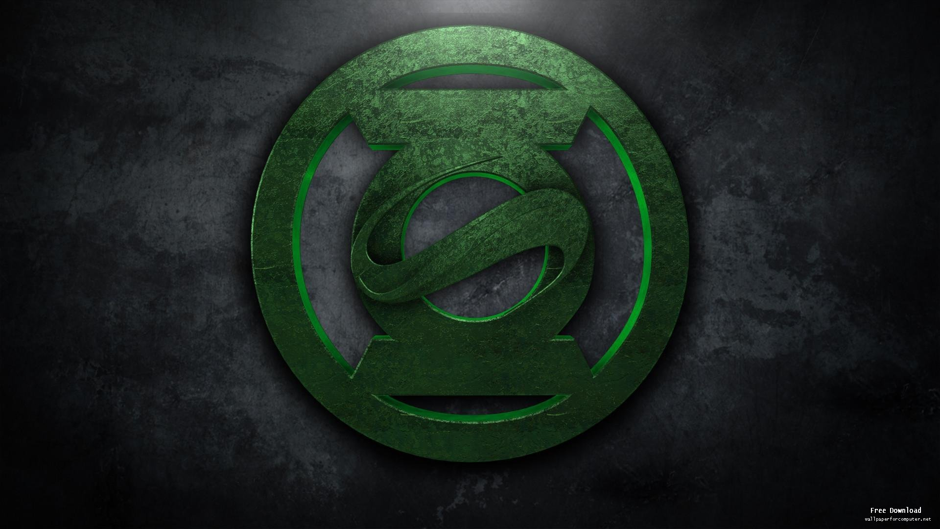 Green Lantern logo Wallpapers for Computer 218   HD Wallpapers Site 1920x1080