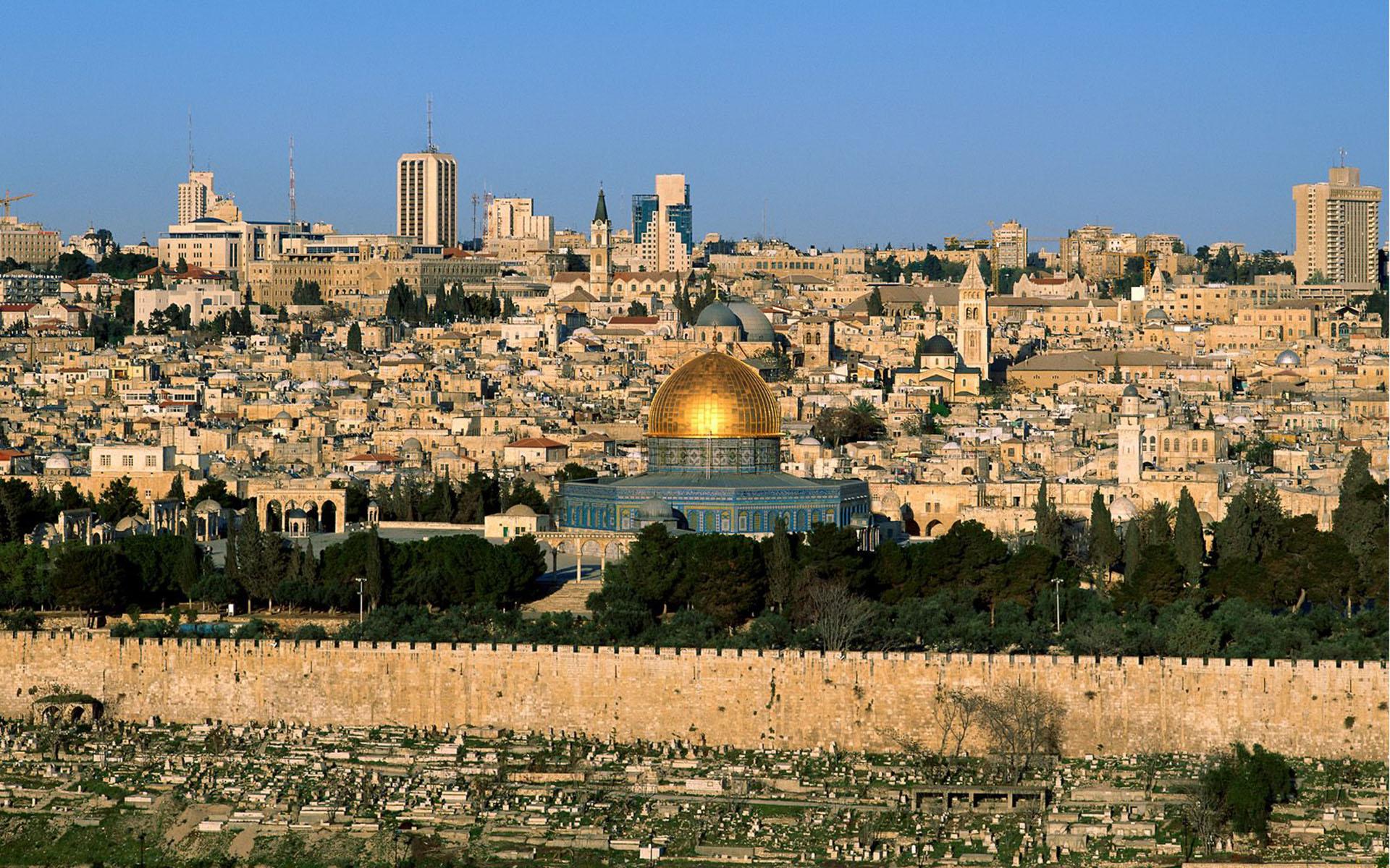 Jerusalem HD Wallpapers for desktop download 1920x1200