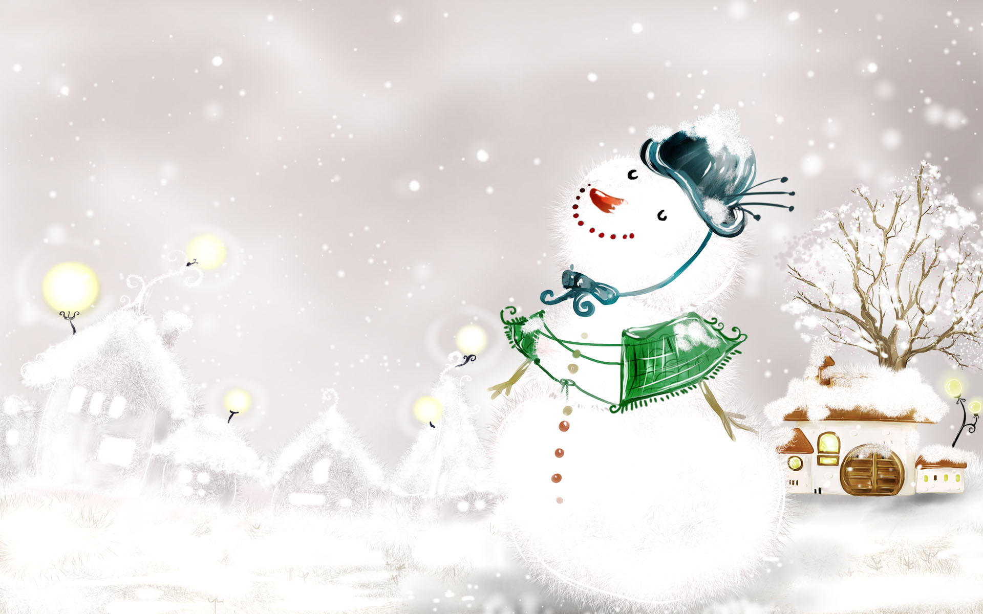 winter snowman wallpaper 2015   Grasscloth Wallpaper 1920x1200