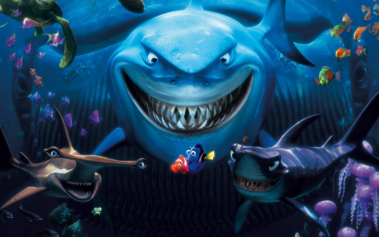 Nemo 3D Movie HD Desktop Wallpaper 03   1280x800 wallpaper download 1280x800