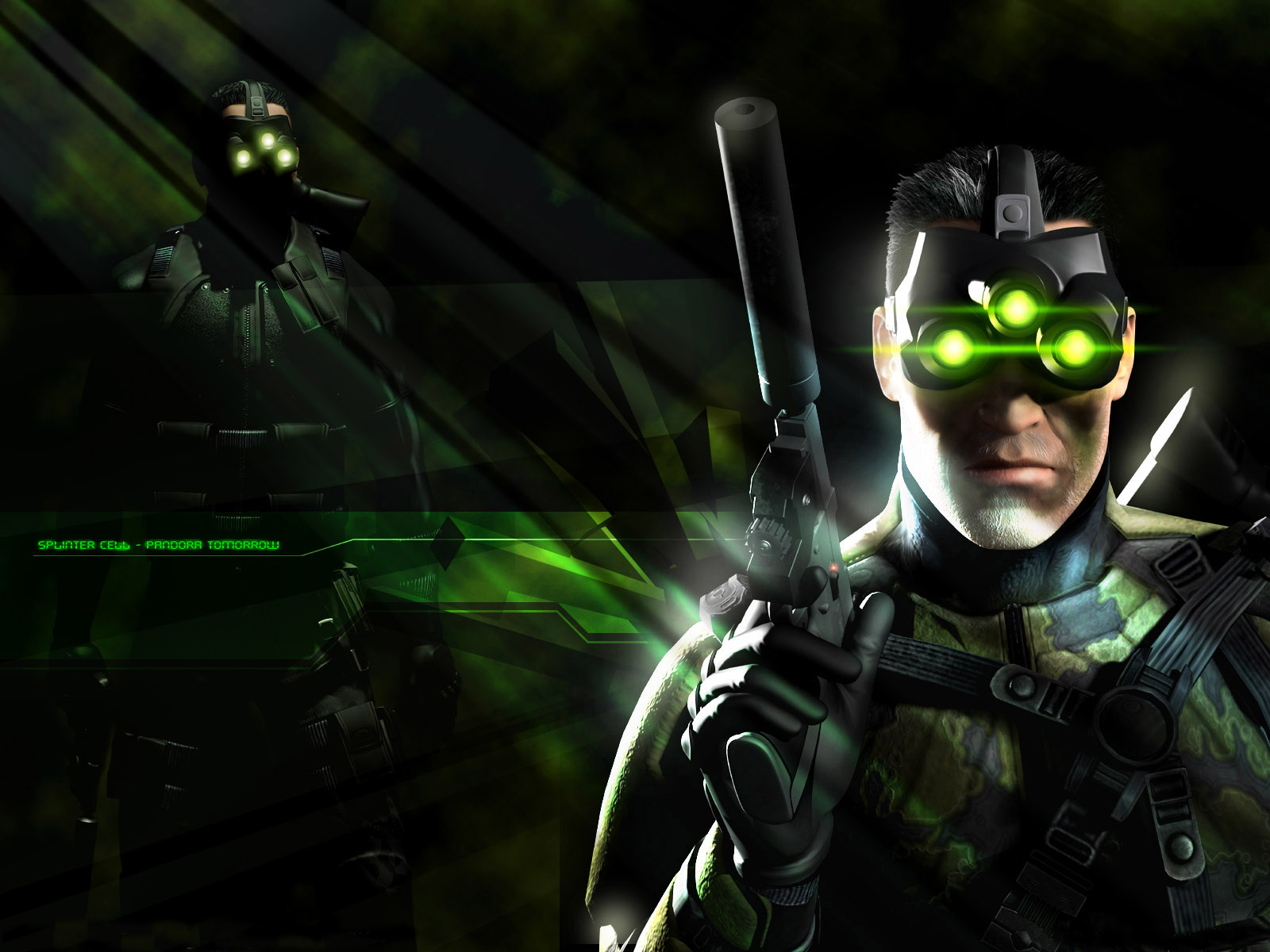 wallpaper sam fisher chaos theory sam fisher splinter cell