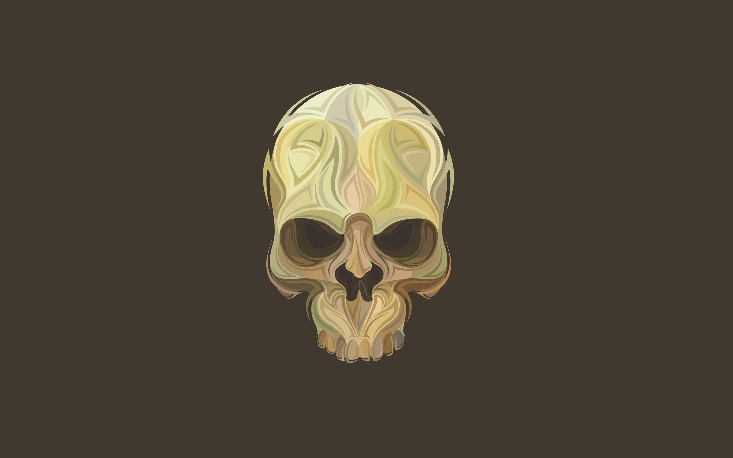Skull Head Wallpaper - WallpaperSafari