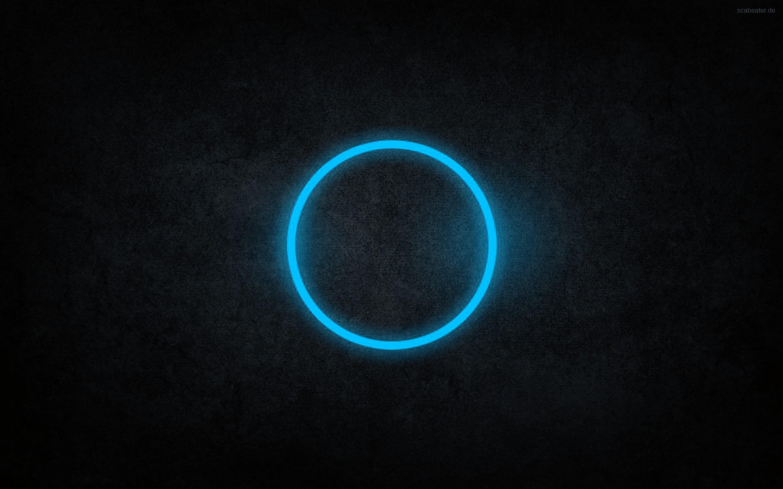 Blue circle wallpaper wallpapersafari