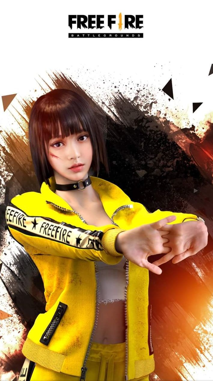 Garena Fire Wallpapers For Mobile Phone   Kelly Fire 709x1265