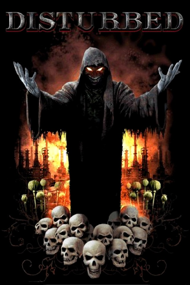 disturbed wallpaper 640x960