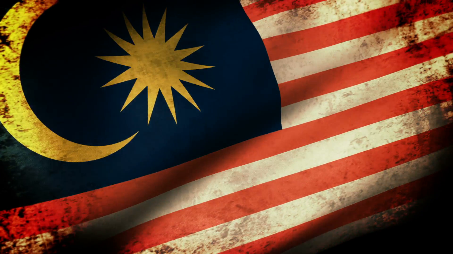 photo Malaysia Grunge Flag   Pride Picture Proud 1920x1080