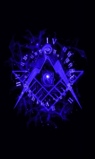 View bigger   Blue Freemason Live Wallpaper for Android screenshot 307x512