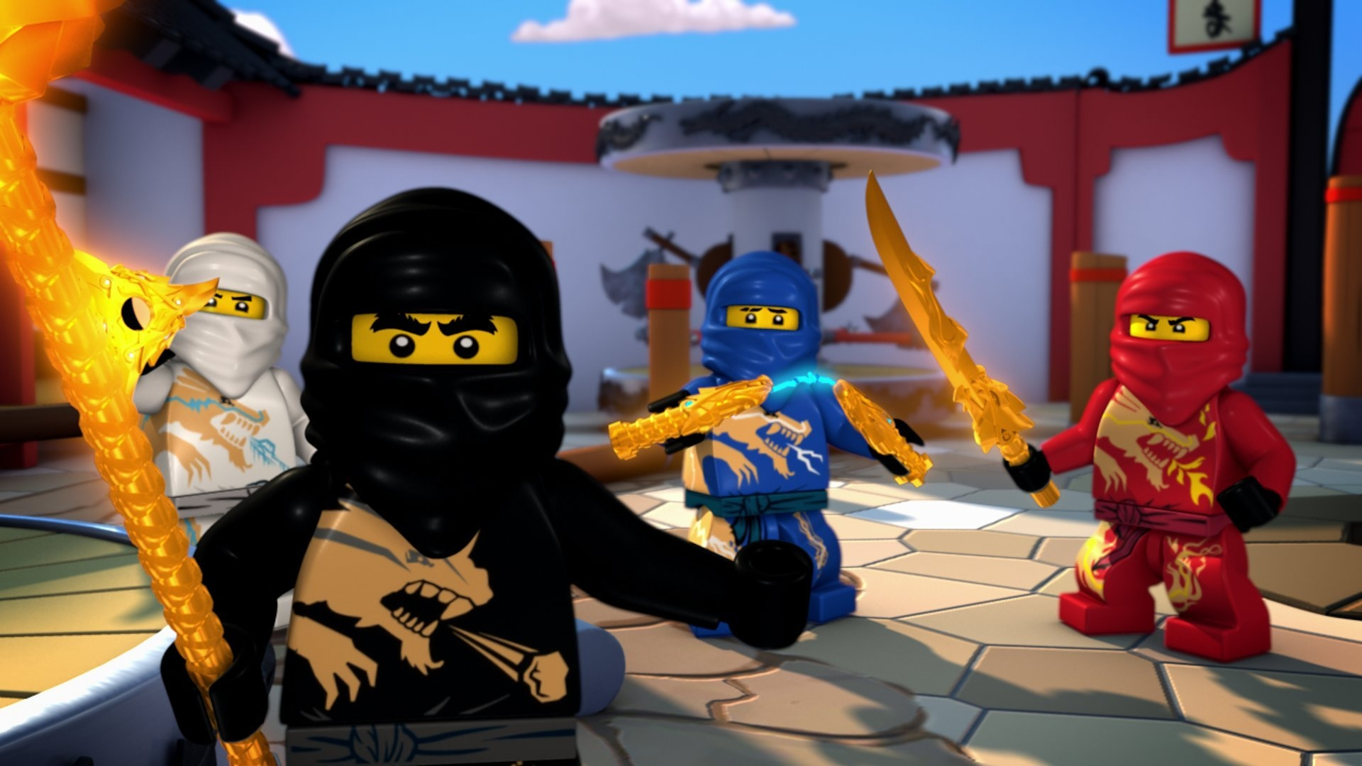 TV Show   Lego Ninjago Masters Of Spinjitzu Lego Wallpaper 1920x1080