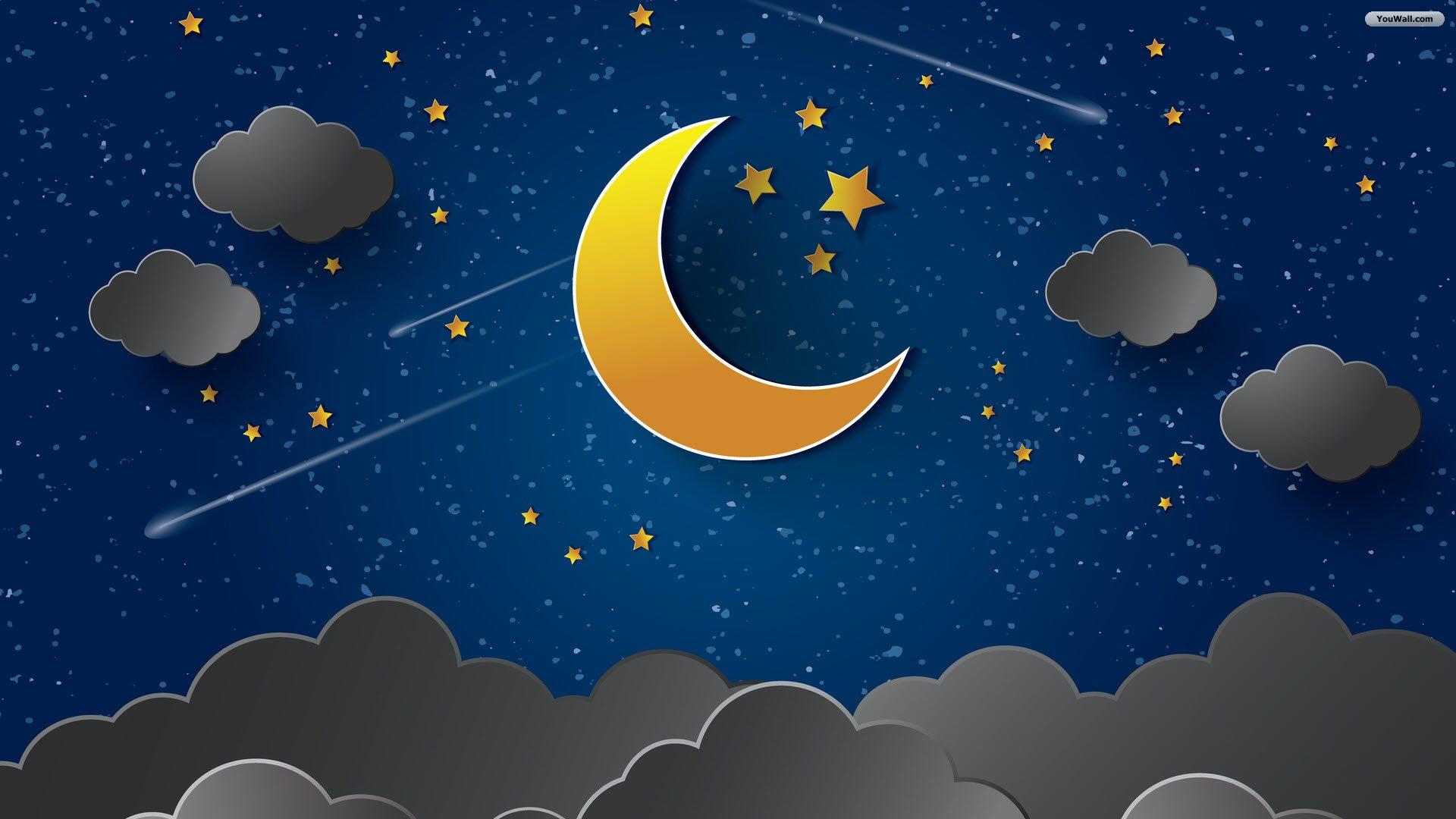 Night Sky Wallpaper 1920x1080 161 KB 1920x1080