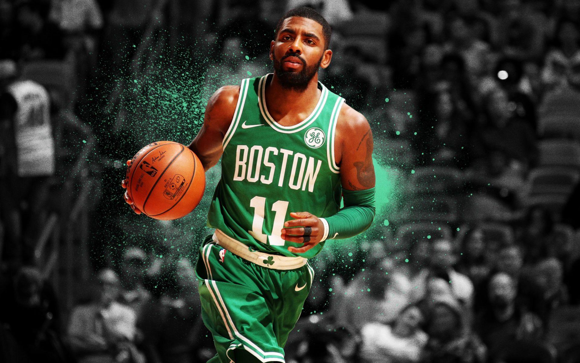 20+] Kyrie Irving Boston Celtics Wallpapers on WallpaperSafari