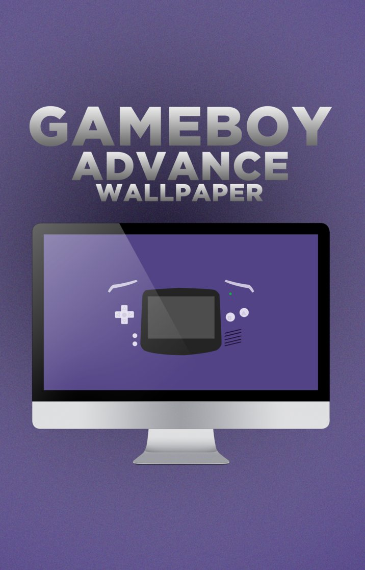 Game Boy Advance Wallpaper by benjaminbartling 716x1117