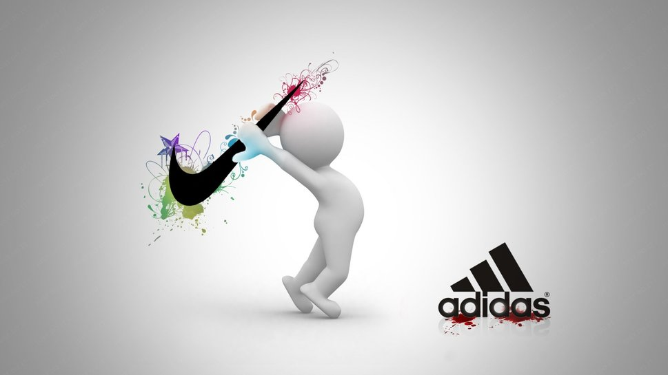 Nike Vs Adidas wallpaper   ForWallpapercom 969x545