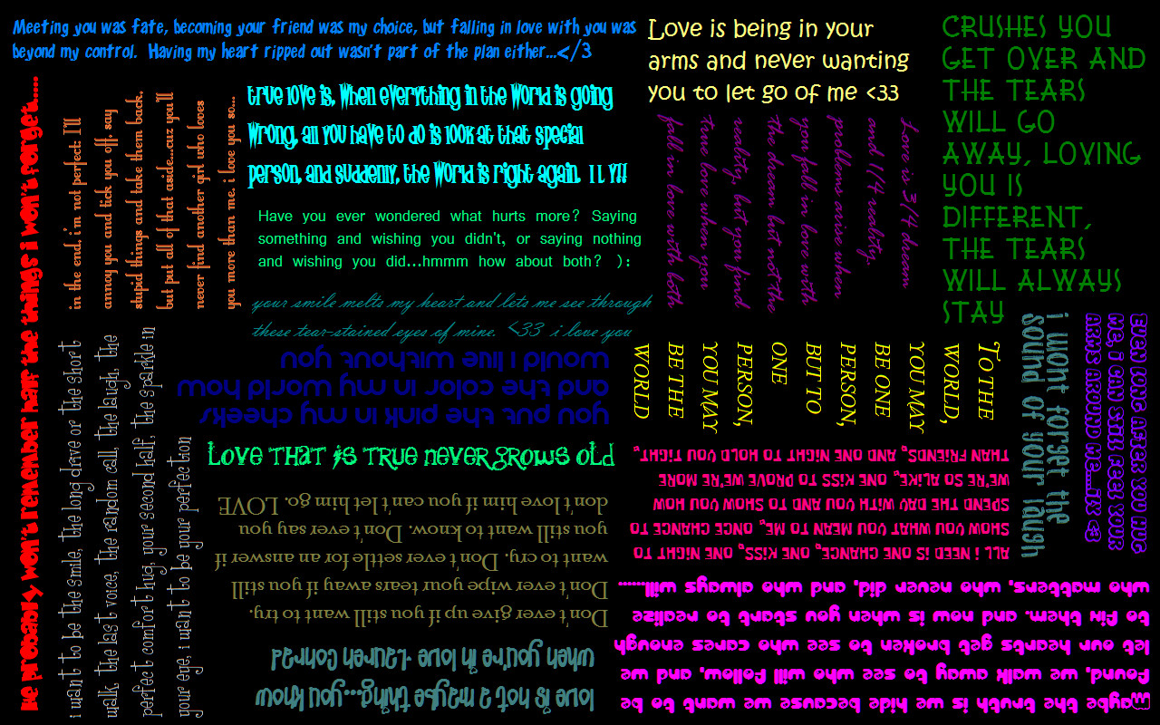 love sayings wallpaper by xwingedxvampirex customization wallpaper 1280x800