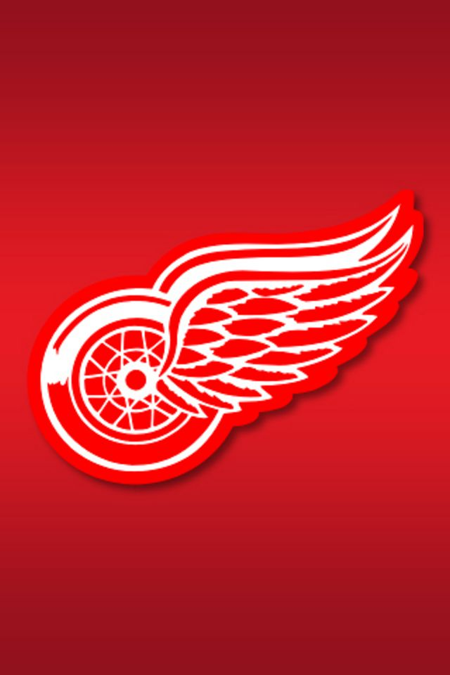 Detroit Red Wings iPhone Wallpaper HD 640x960