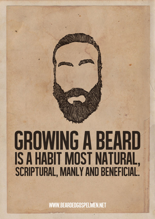 A Beard Man is a Real Man Quotes Posters 600x849