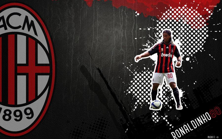 Ronaldinho AC Milan Wallpaper by Razer10 900x563