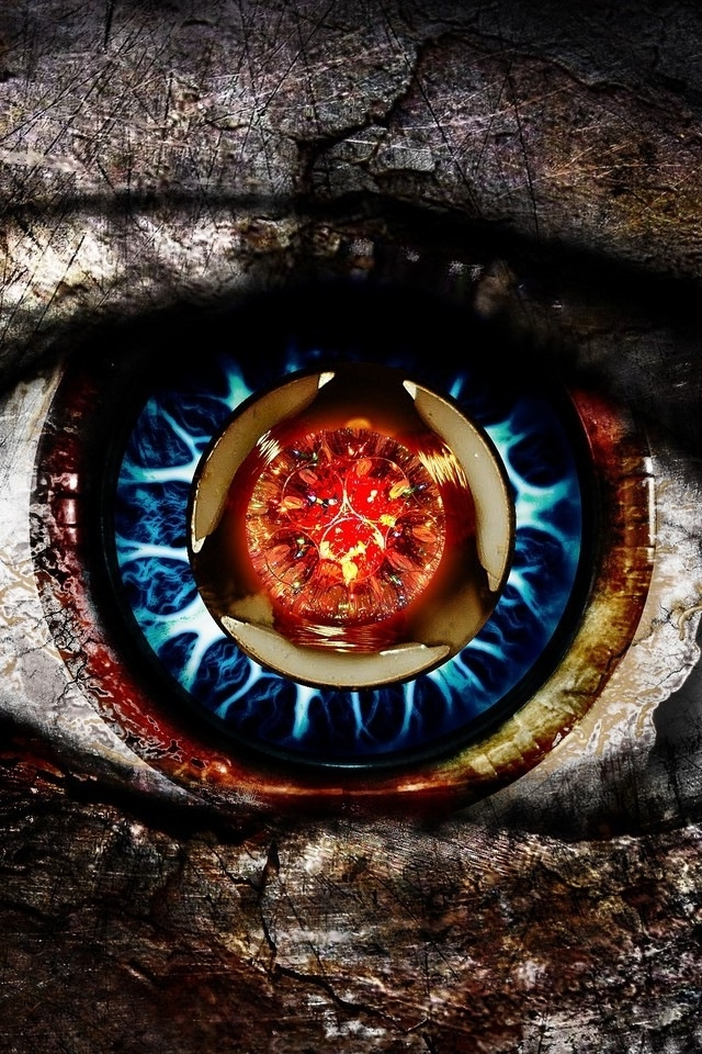 Scary Eye iPhone HD Wallpaper iPhone HD Wallpaper download iPhone 640x960