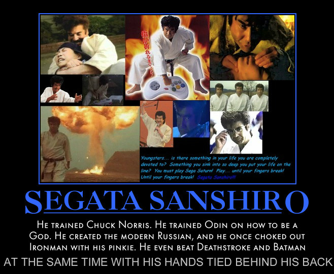 Segata Sanshiro The most badass man who ever lived by MexPirateRed on ...