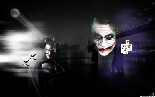Batman vs Joker Wallpaper Hintergrundbilder   WallpaperMe 540x338