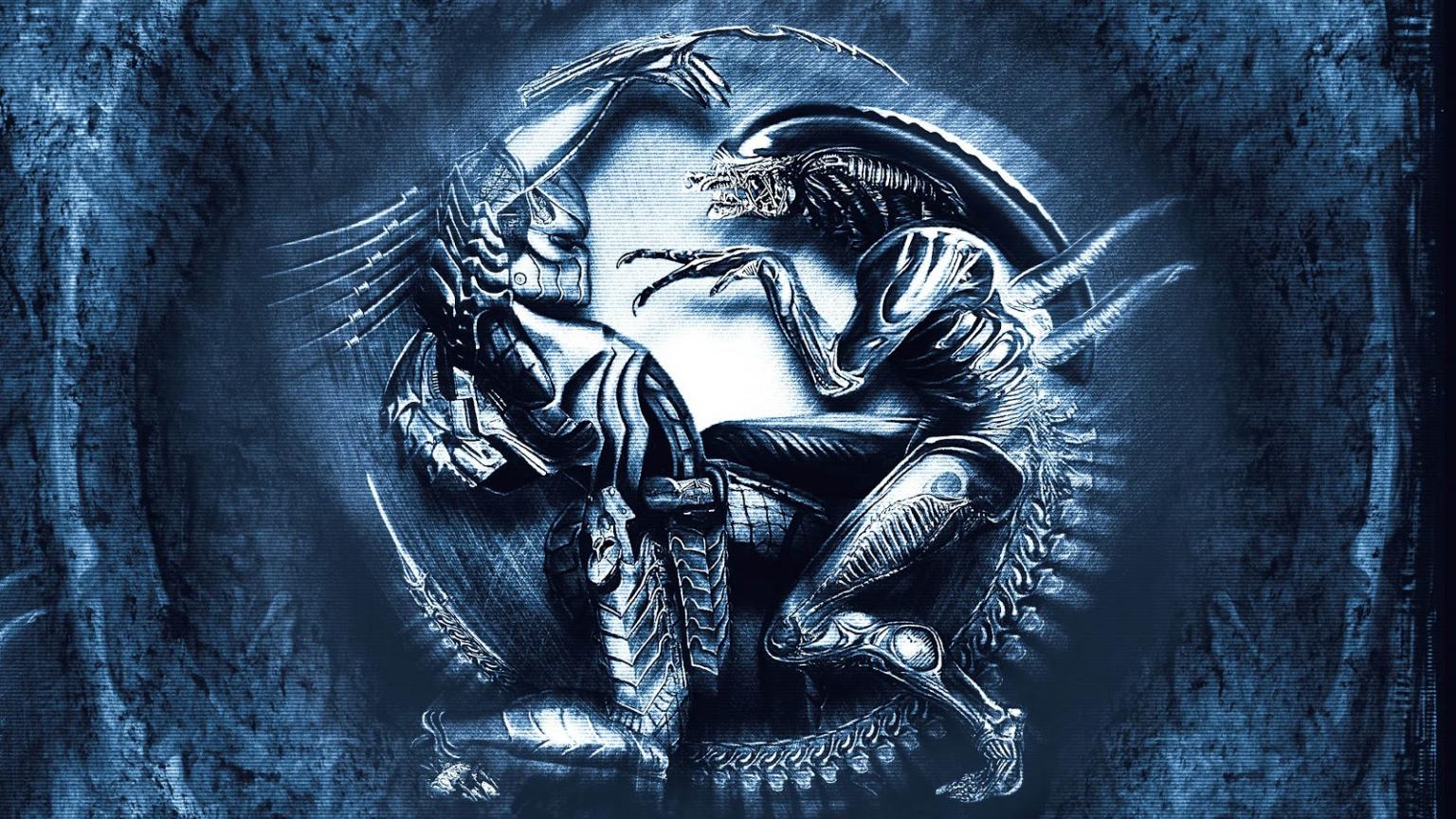 download HD PC Desktop Wallpapers Alien VS Predator Wallpaper 1536x864