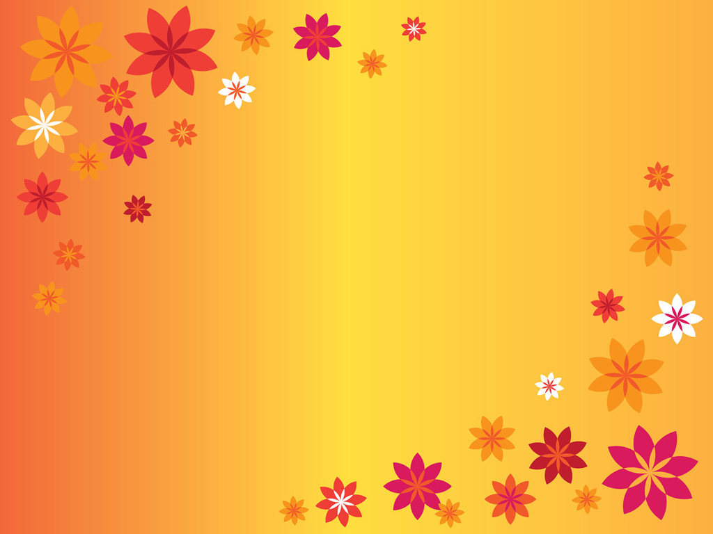 Free Download Go Back Pix For Orange Flowers Background 1024x768