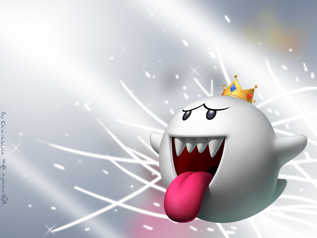 King Boo Wallpaper by Chivi chivik 1024x768