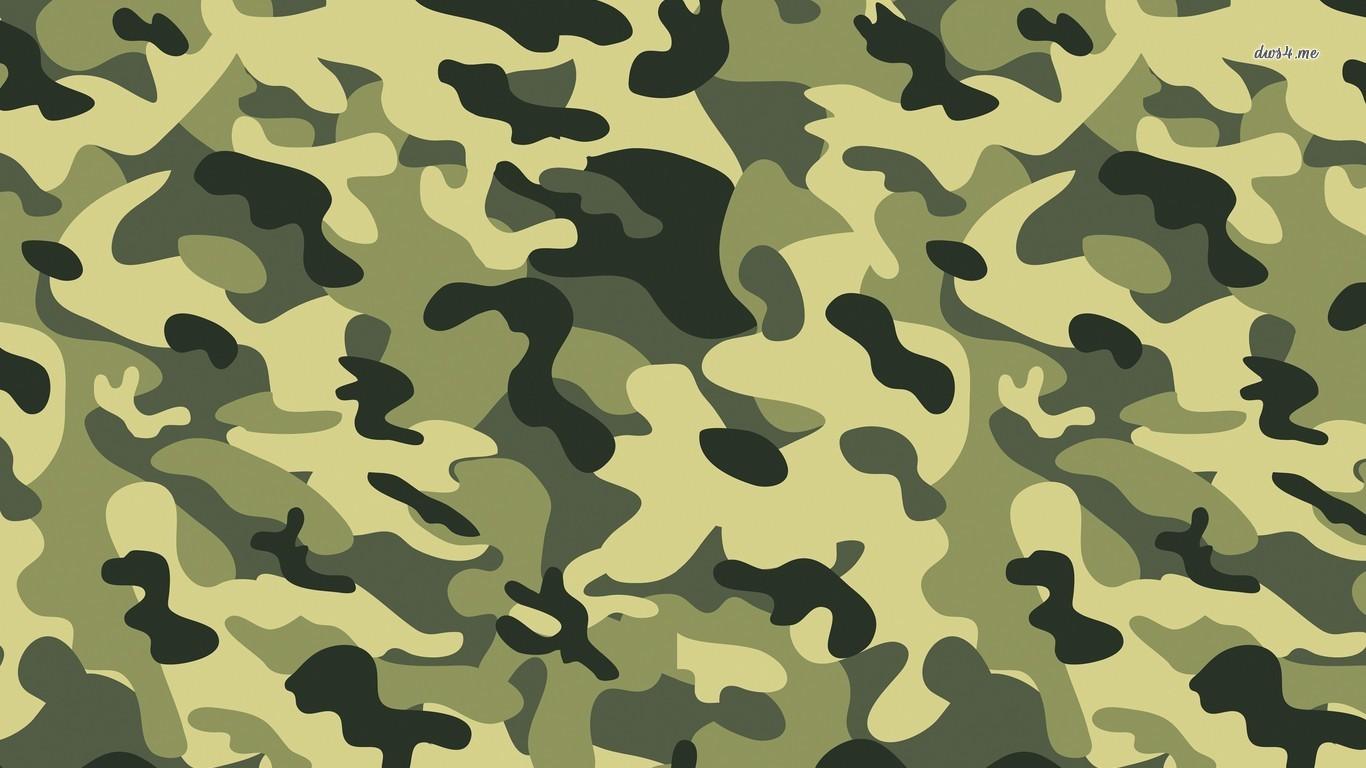 Blue Camouflage Wallpaper   Desktop Backgrounds 1366x768