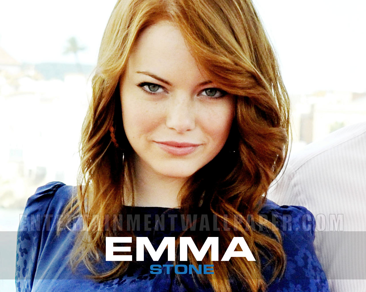 Sexy Emma Stone iPhone wallpapers 1280x1024