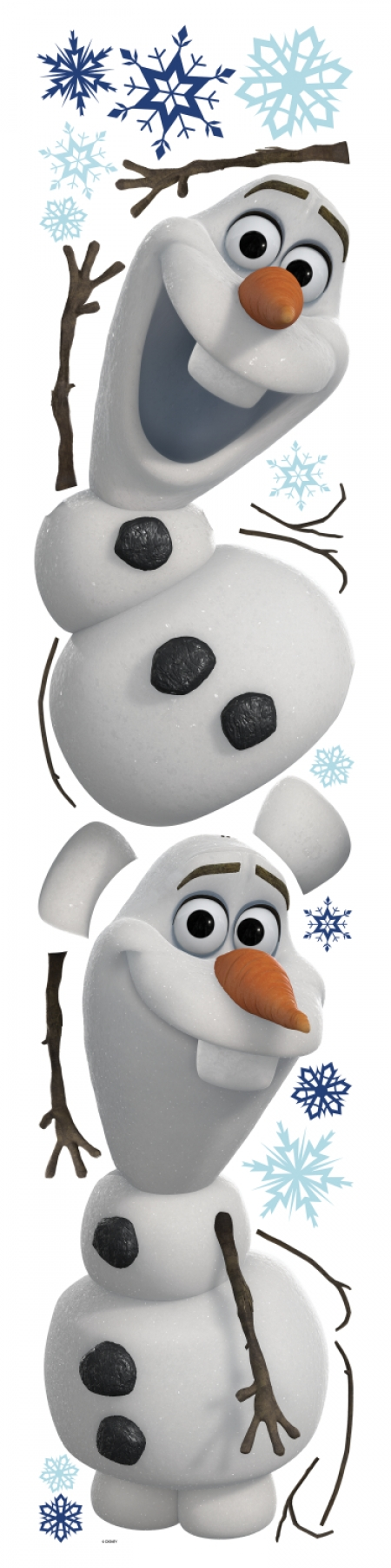 RMK2372SCS Frozen Olaf The Snow Man Wall Stickers 450x1800