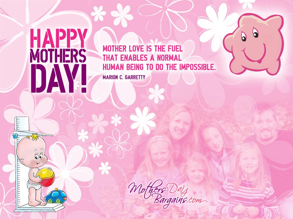 Top 10 Happy Mothers Day Wallpapers 1024x768