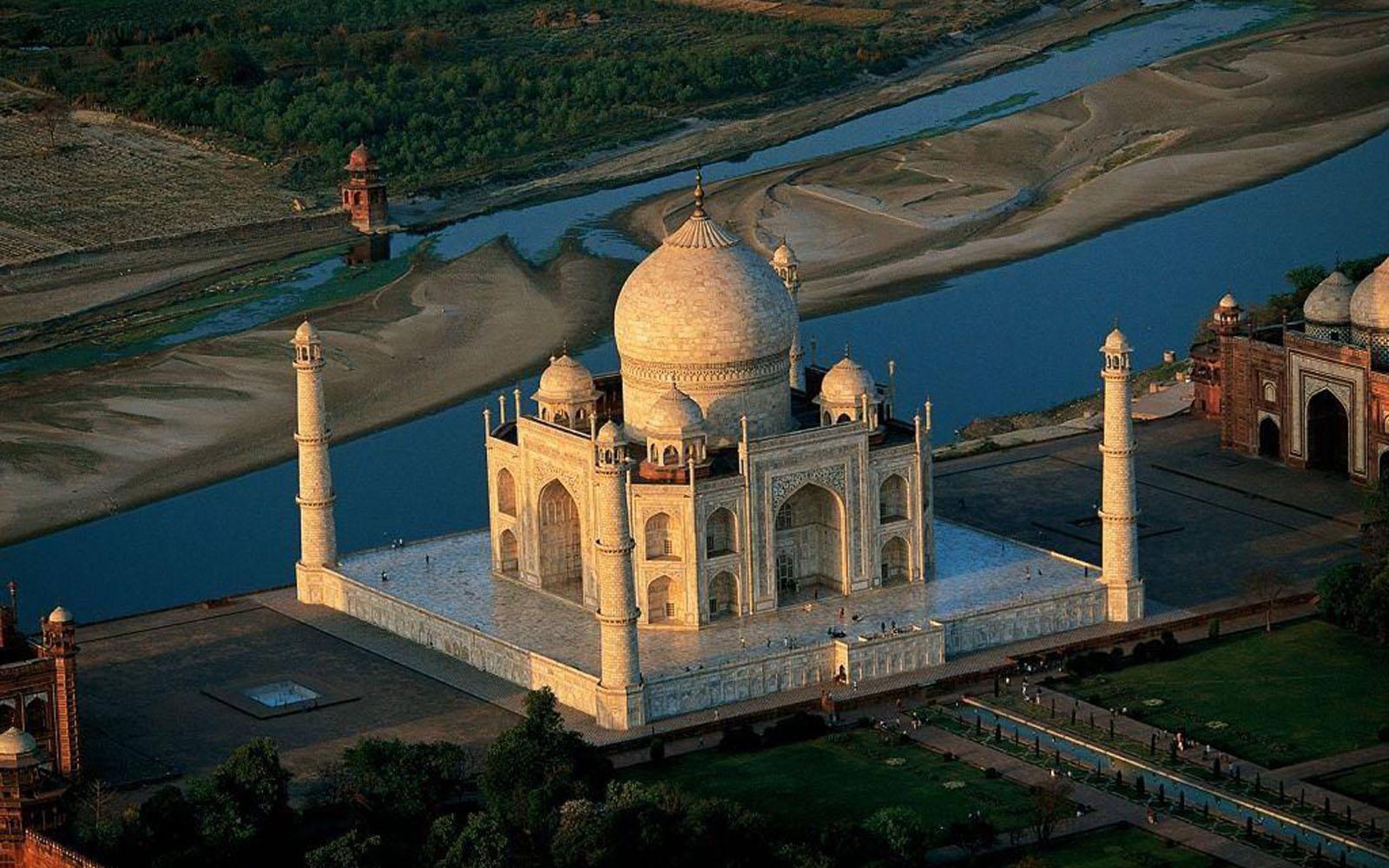 Taj Mahal Wallpapers For Desktop Wallpapersafari