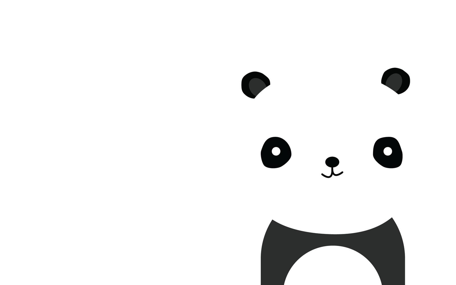 Cute panda wallpaper 1600x1000