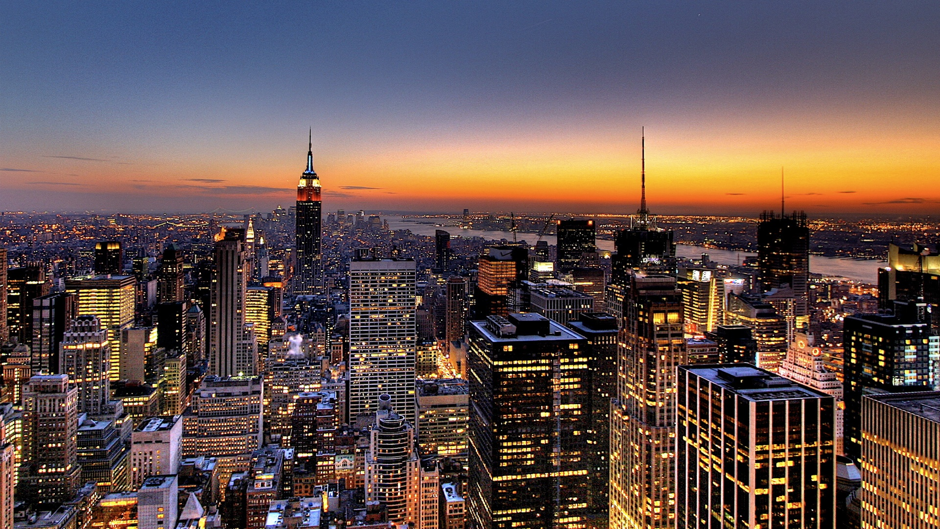 New York Skyline Wallpapers HD Wallpapers 1920x1080