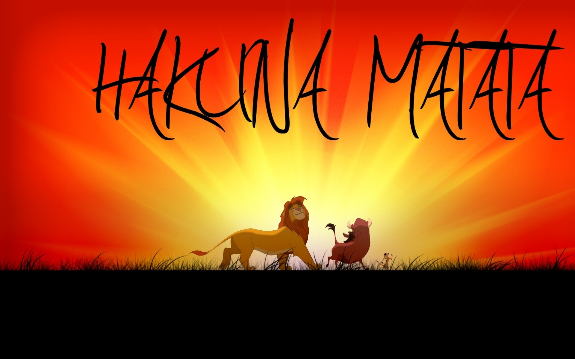 hakuna matata no worries 1920x1080 wallpaper Art HD Wallpaper download 1920x1200
