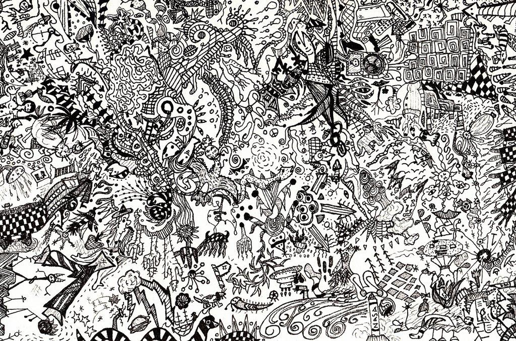 50 Doodle Art Wallpapers On Wallpapersafari