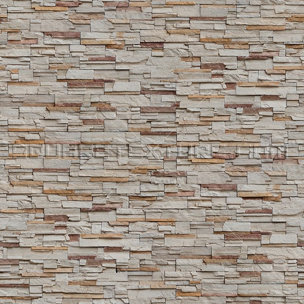 Free Stacked Stone Veneer Wall