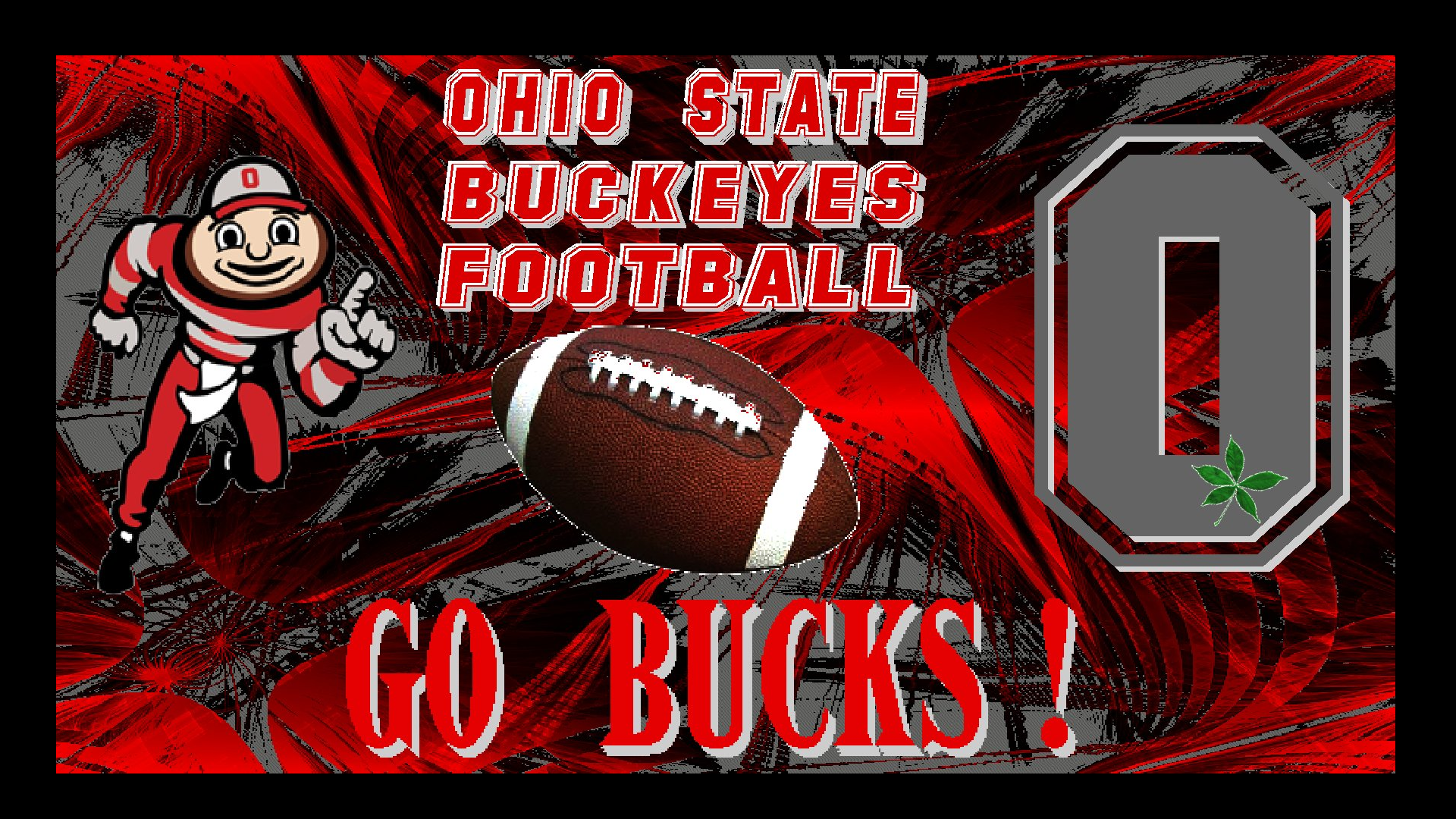 Ohio State Football OHIO STATE BUCKEYES FOOTBALL GO BUCKS 1920x1080