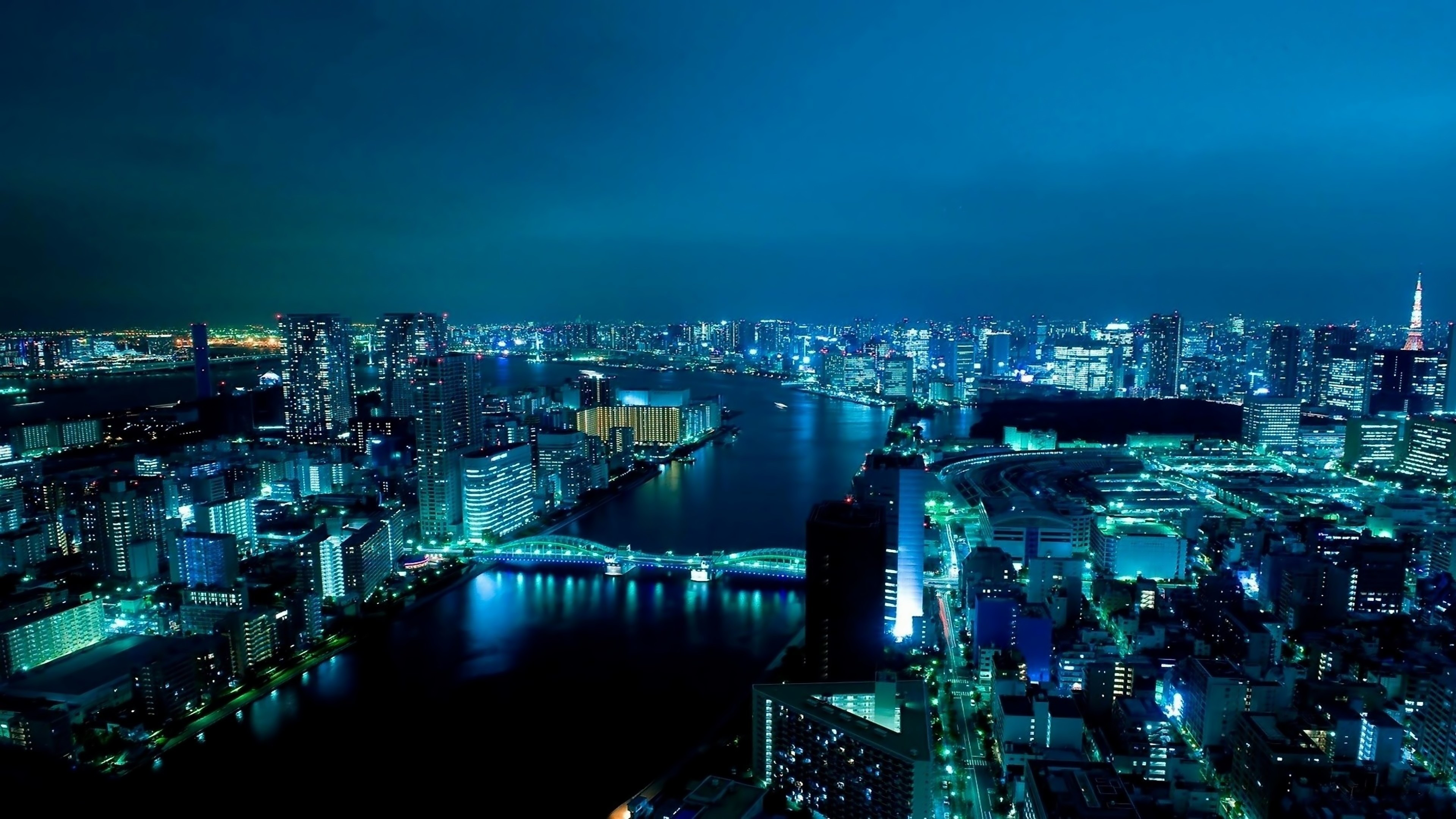 At Night Japan Wallpapers Windows 8 Desktop Wallpapers Widescreen 3840x2160
