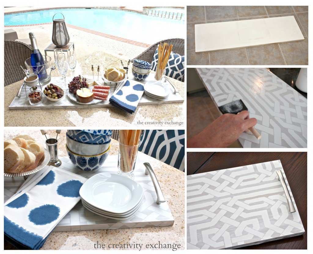 trays with plywood boards You can paint or cover in wallpaper 1024x833