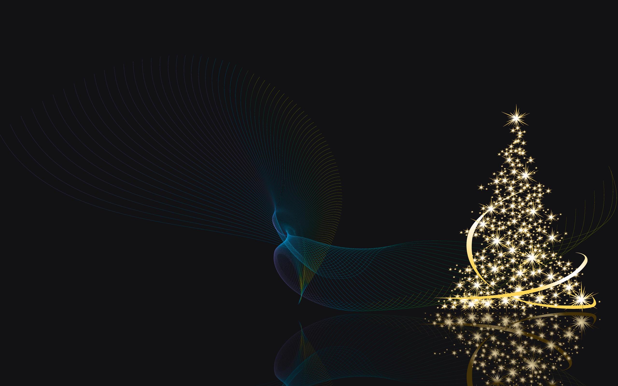 Christmas Trees Wallpaper 2560x1600