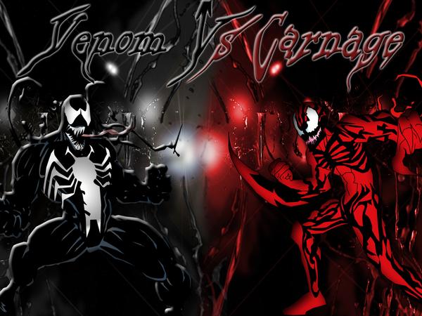 Venom Vs Carnage by JimG182 600x450
