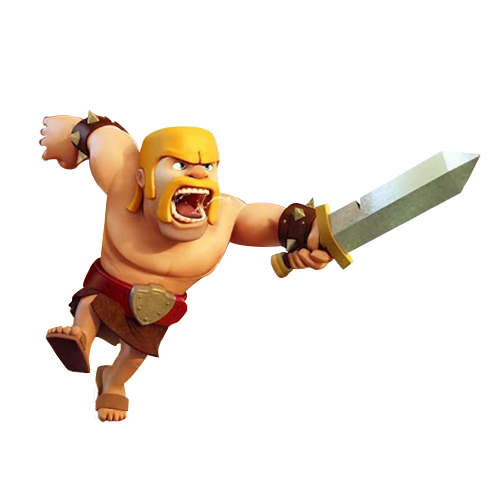 Render] Clash of Clans   Barbarian by aaa13xxx 500x500
