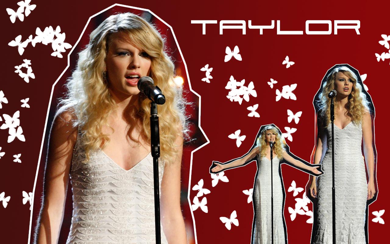 Beautiful and wonderful Actress Taylor Swift Hot Music Wallpaper 1280x800