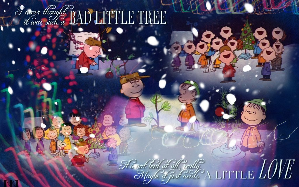 Charlie Brown Christmas   Christmas Wallpaper 468187 1024x640