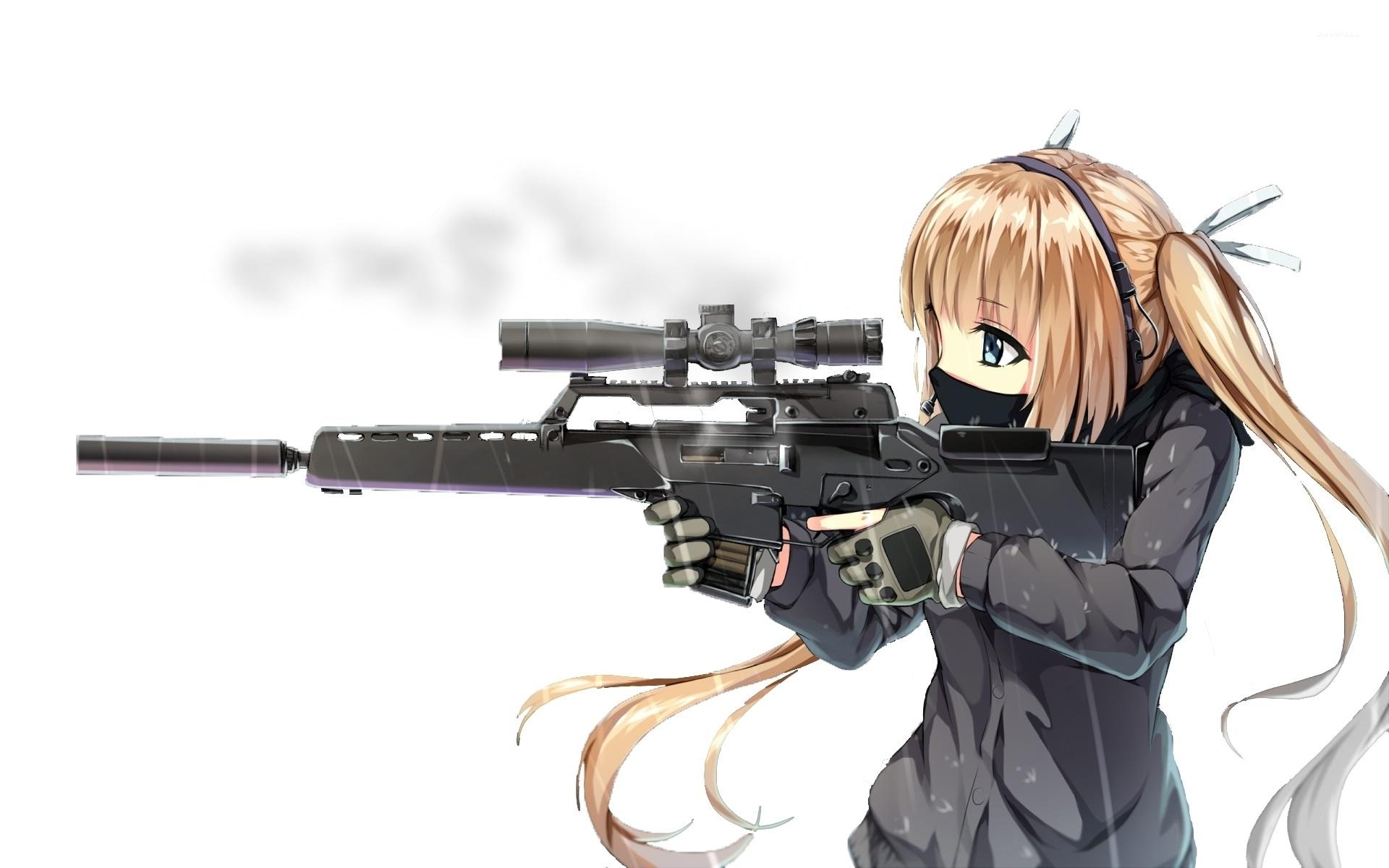 75 sniper wallpaper on wallpapersafari - Anime sniper girl ...